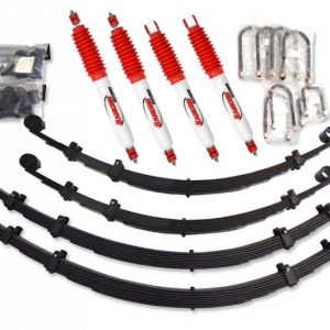 KIT COMPLET XT AUTOMOTIVE / RANCHO +5 CM POUR NISSAN PATROL 3.3