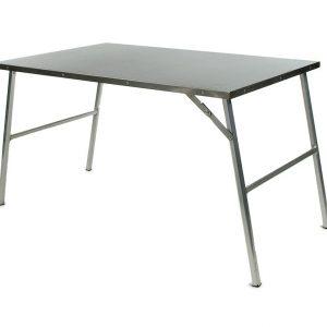 Kit de table de camp en acier inoxydable