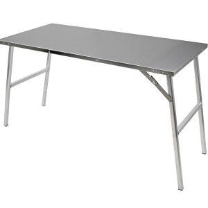 Kit de table de préparation en acier inoxydable
