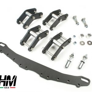 Kit de rehausse de suspension HM4x4 ACCESS +4 cm Suzuki Samurai et Sj