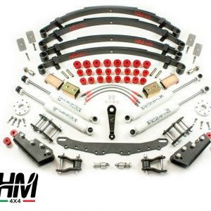 Kit de rehausse de suspension full trial +10cm shackle reverse Suzuki Samurai/Sj