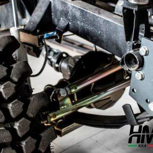 Kit de rehausse de suspension HM4X4 FULL TRIAL +11cm Shackle Reverse Suzuki Samurai et Sj