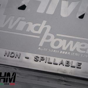 AGM Winch POWER batterie 50AH 800A